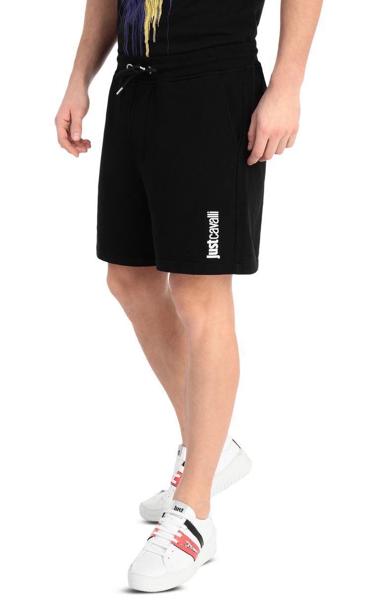 JUST CAVALLI Shorts with skull Shorts Man f