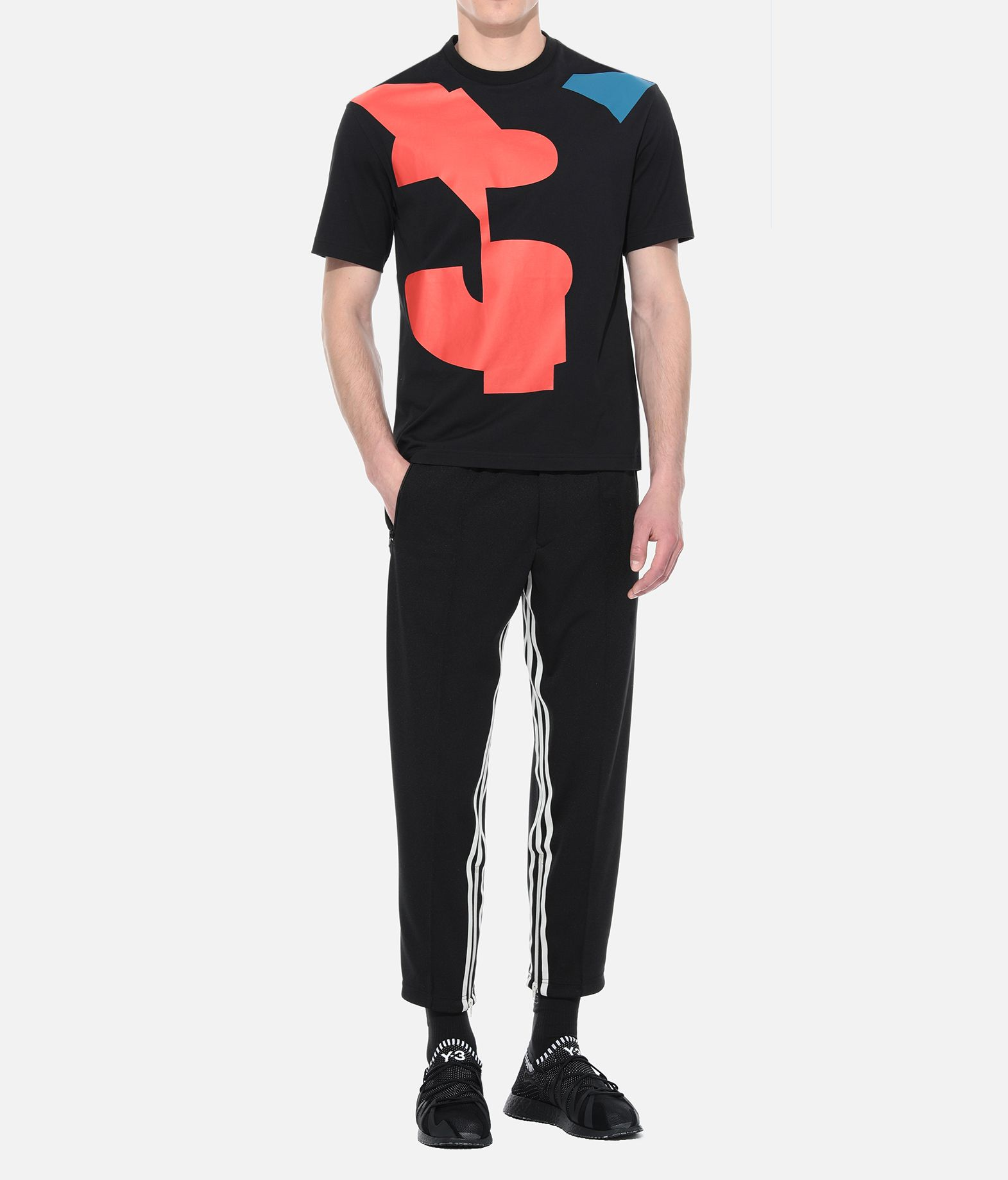 Y-3 Y-3 3-Stripes Cropped Track Pants Tracksuit bottoms Man a