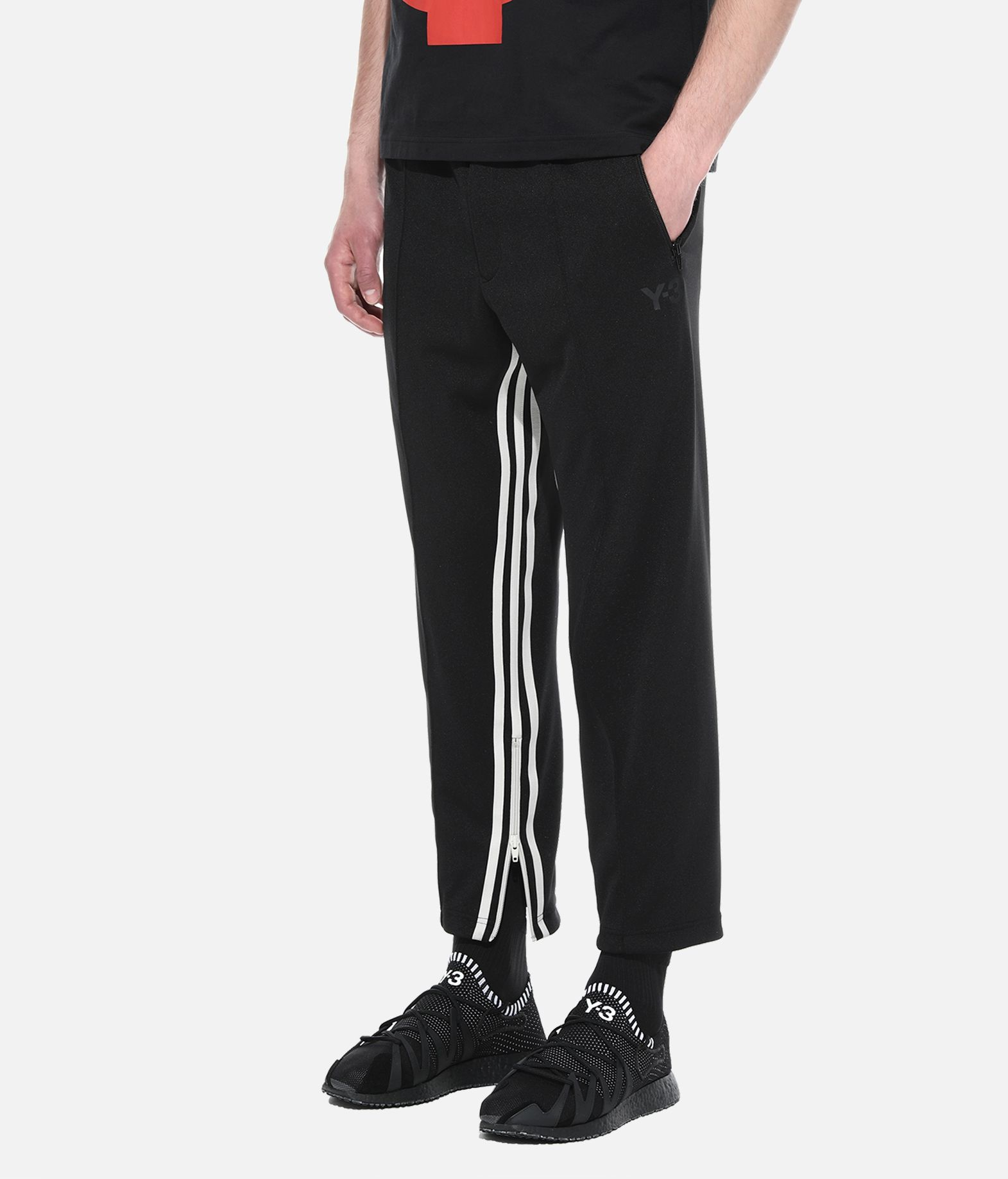 Y-3 Y-3 3-Stripes Cropped Track Pants Tracksuit bottoms Man e