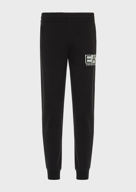 Train Visibility jogging pants in baby French terry cotton