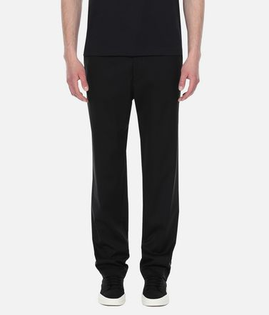 Y-3 Casual pants Man Y-3 Wool Satin Straight Leg Pants r