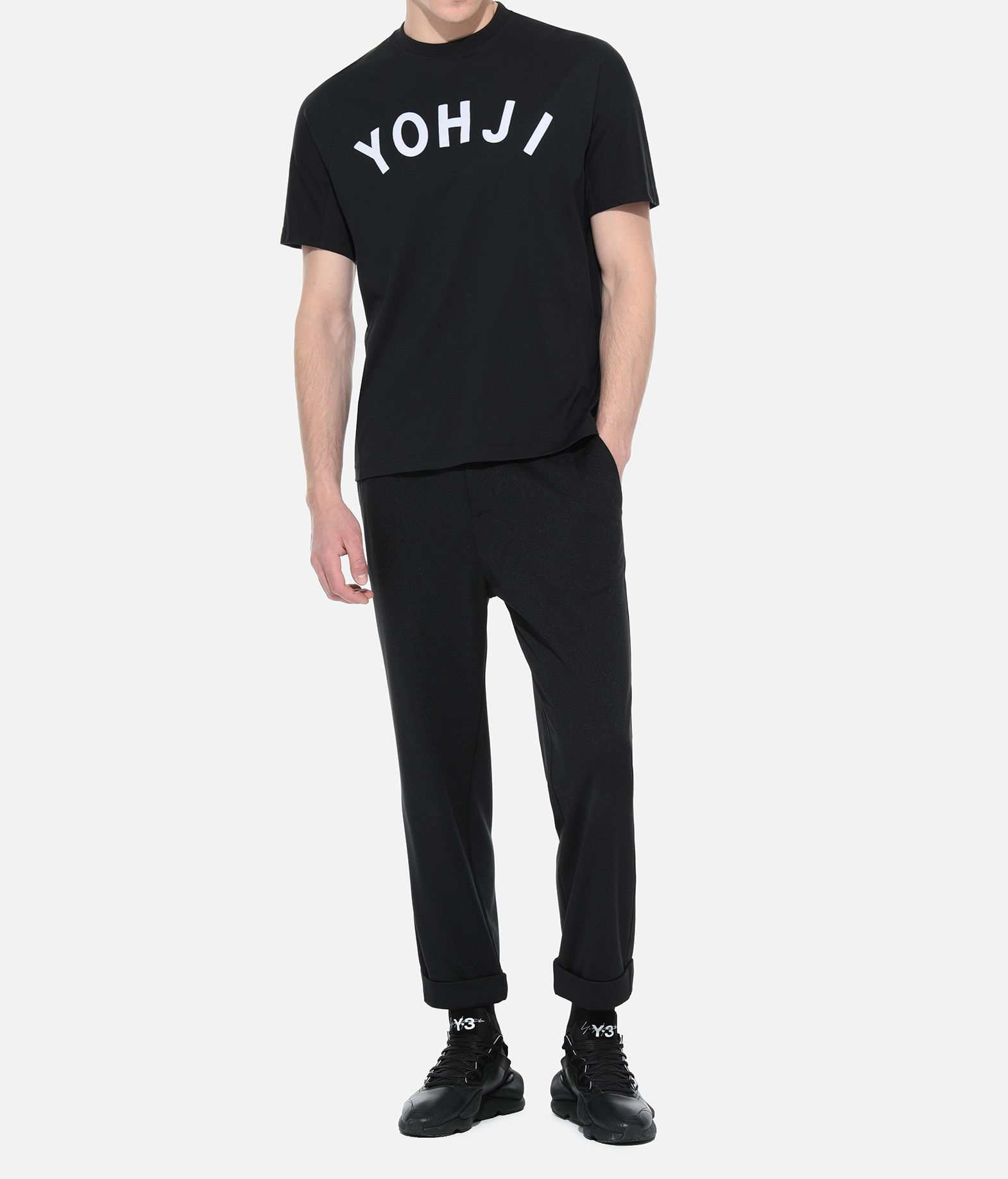 Y-3 Y-3 Turn-Up Track Pants Tracksuit bottoms Man a