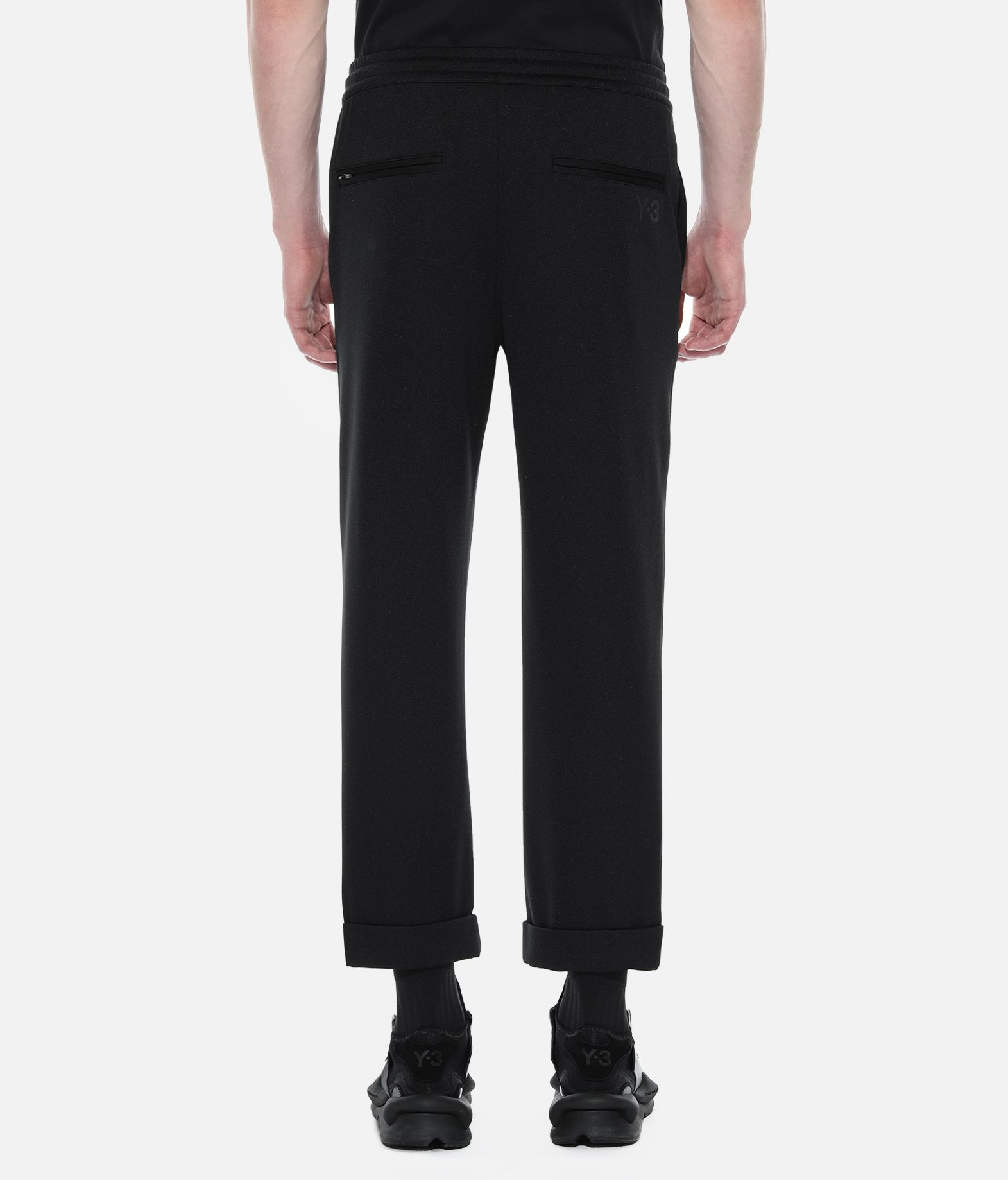 Y-3 Y-3 Turn-Up Track Pants Tracksuit bottoms Man d