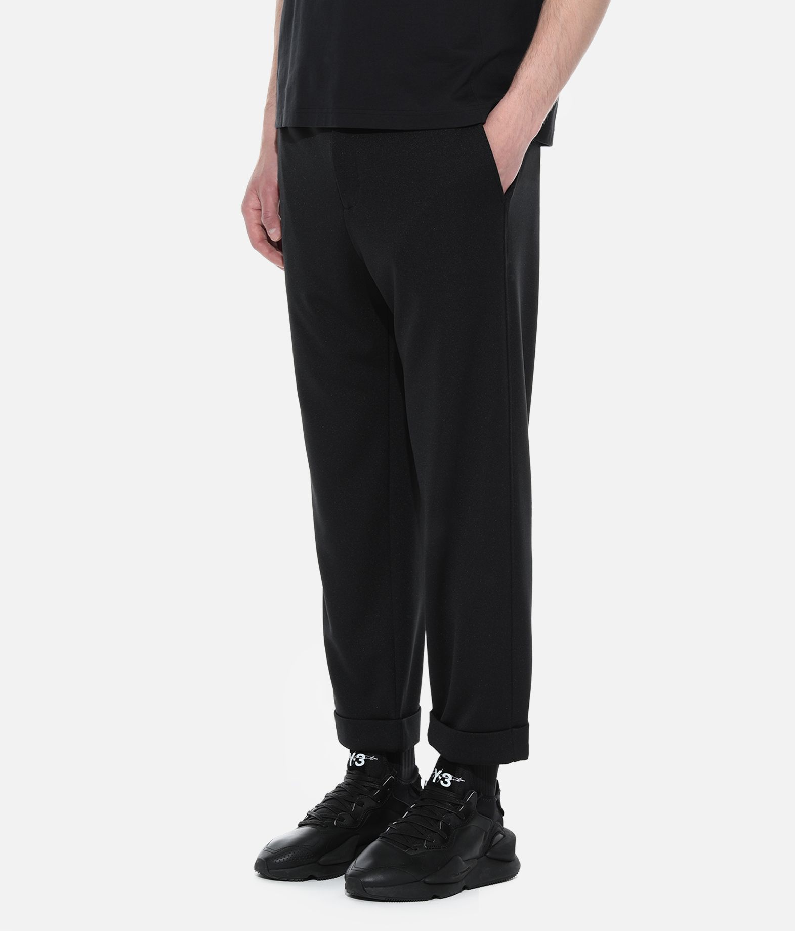 Y-3 Y-3 Turn-Up Track Pants Tracksuit bottoms Man e
