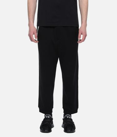 Y-3 Casual pants Man Y-3 3-Stripes Cuff Pants r