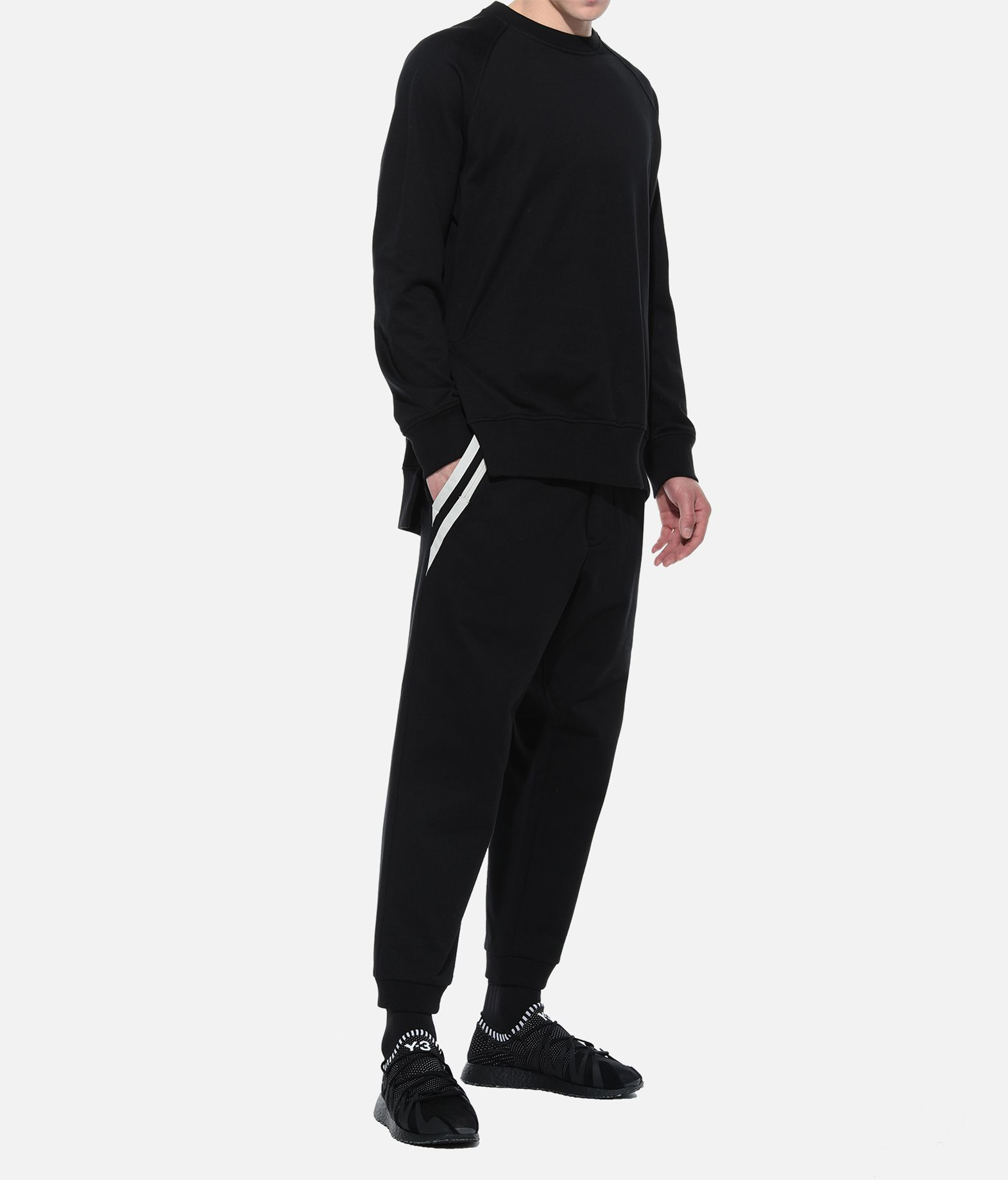 Y-3 Y-3 3-Stripes Cuff Pants Casual trouser Man a