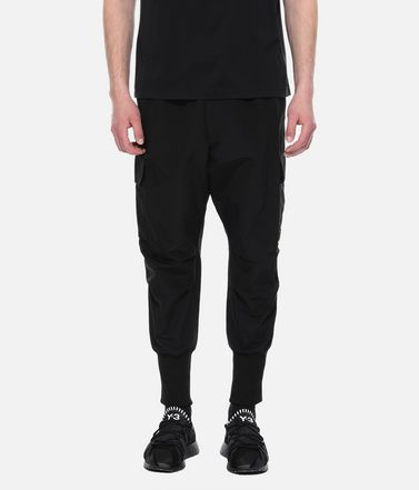 Y-3 Casual trouser Man Y-3 Nylon Cargo Pants r