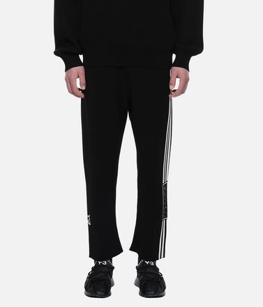 Y-3 Casual pants Man Y-3 Tech Knit Wide Pants r