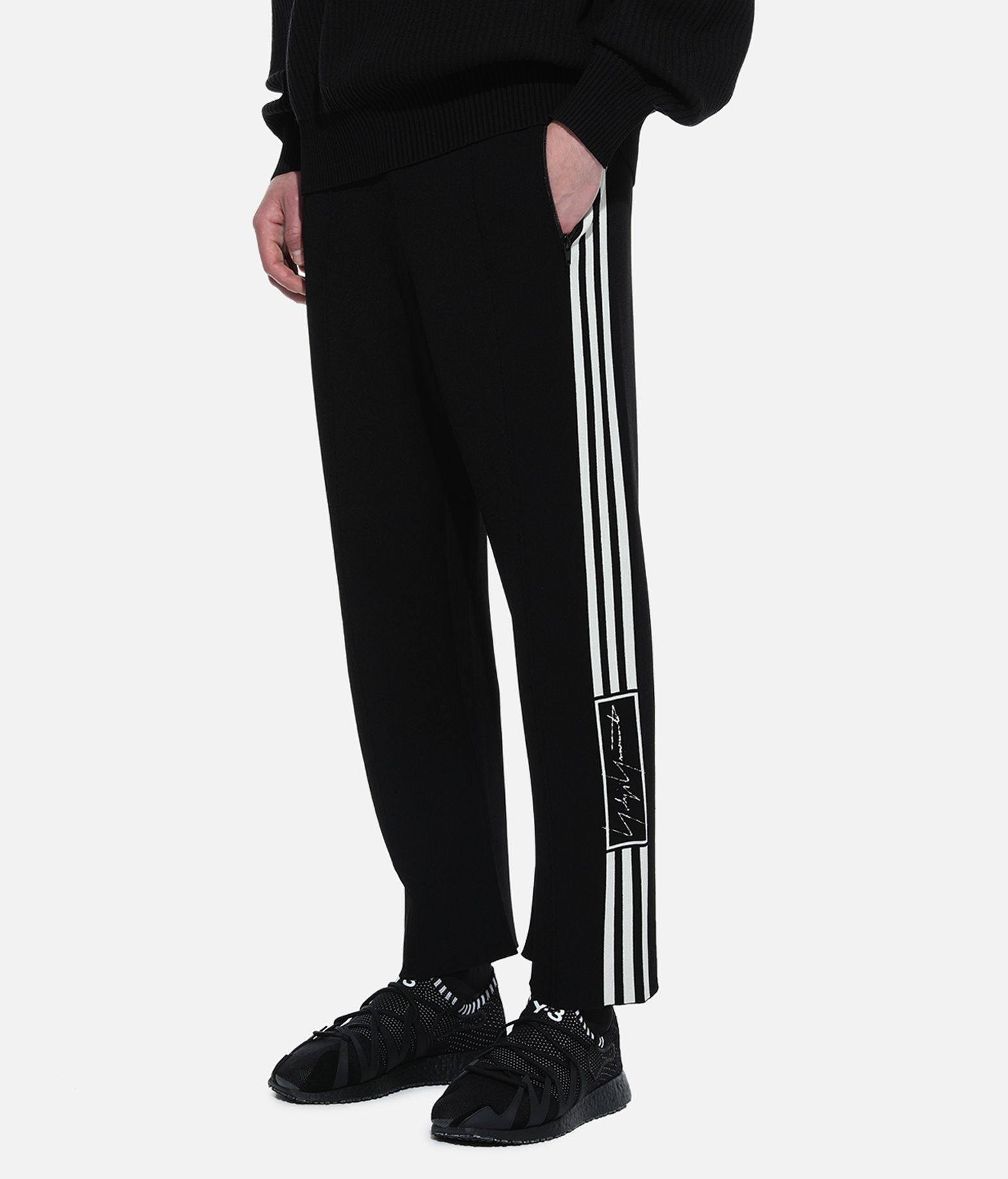 Y-3 Y-3 Tech Knit Wide Pants Casual trouser Man e