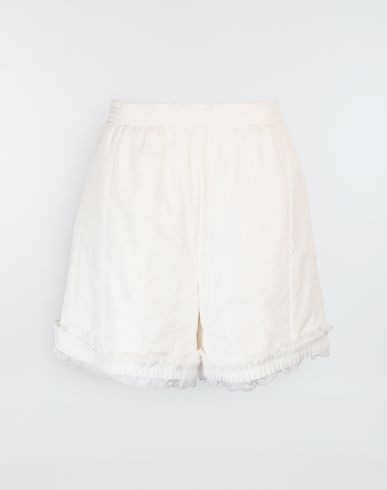 MM6 MAISON MARGIELA Shorts [*** pickupInStoreShipping_info ***] Lace-trimmed jersey shorts f