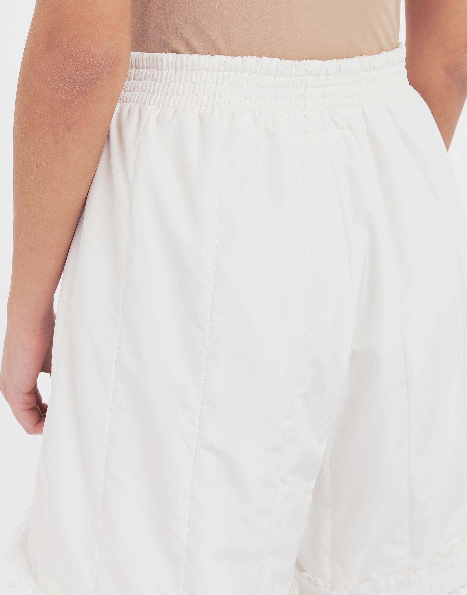 MM6 MAISON MARGIELA Lace-trimmed jersey shorts Shorts Woman b