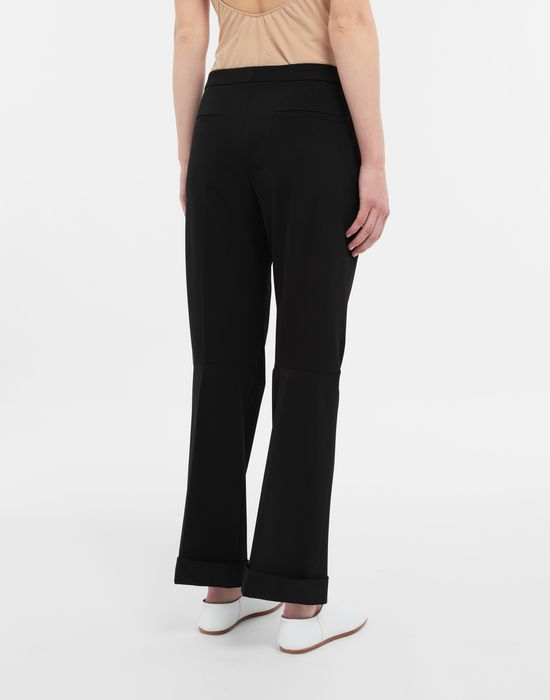 MAISON MARGIELA Straight-leg woven pants Casual pants [*** pickupInStoreShipping_info ***] e