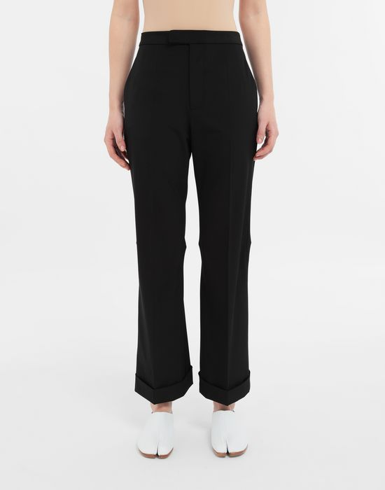 MAISON MARGIELA Straight-leg woven pants Casual pants [*** pickupInStoreShipping_info ***] r