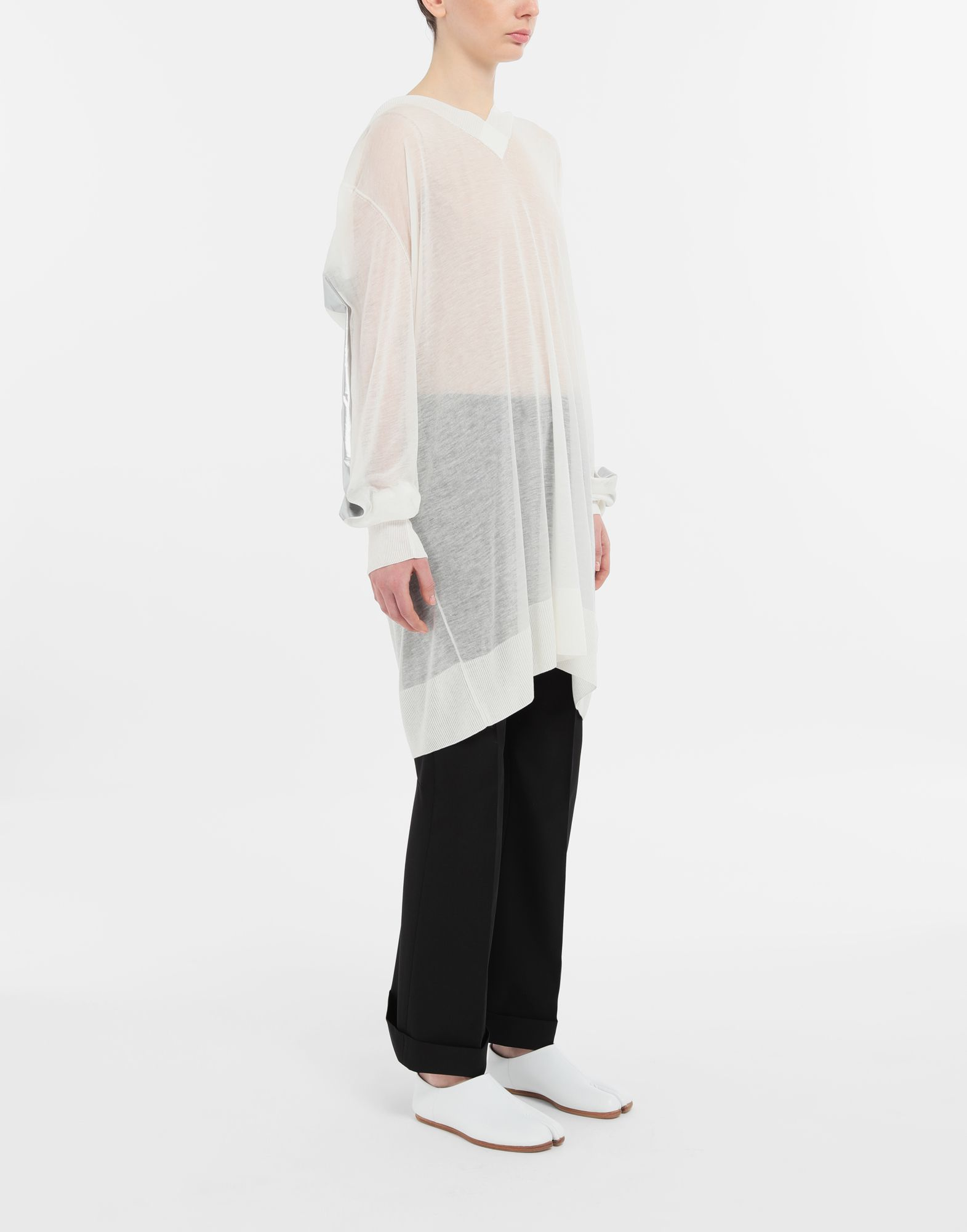 MAISON MARGIELA Straight-leg woven pants Casual pants Woman d