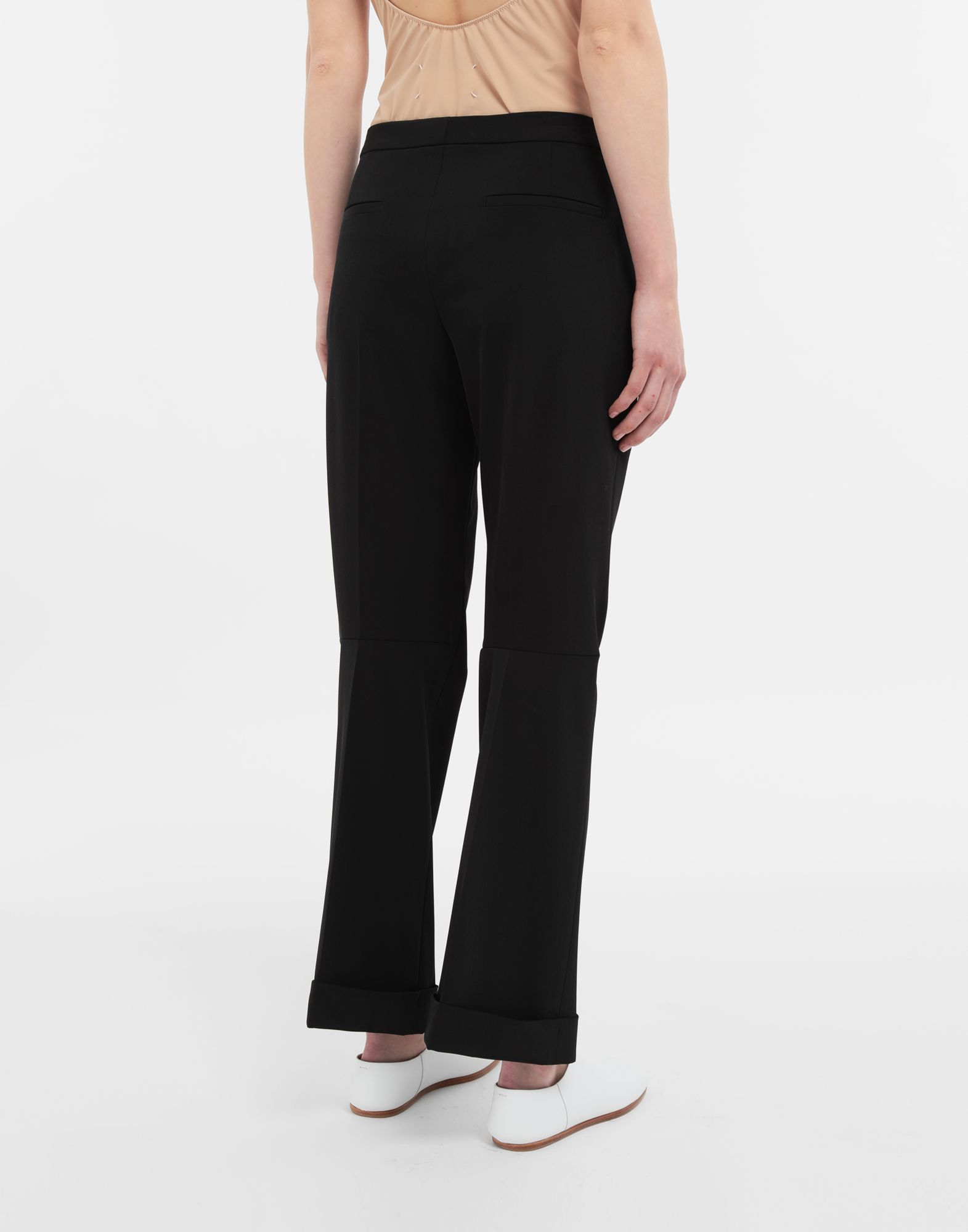 MAISON MARGIELA Straight-leg woven pants Casual pants Woman e