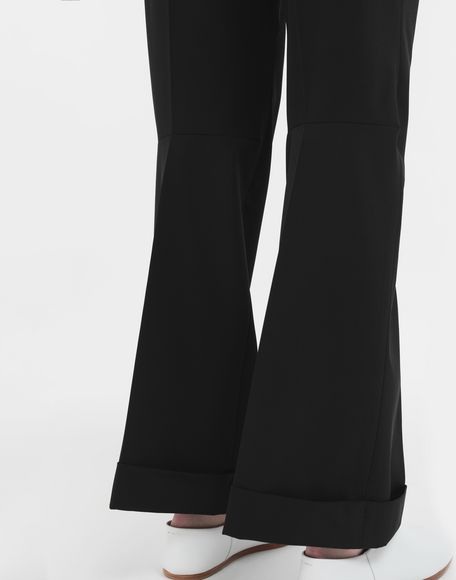 MAISON MARGIELA Straight-leg woven pants Casual pants Woman b