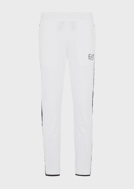 Pure cotton Train Logo jogging trousers