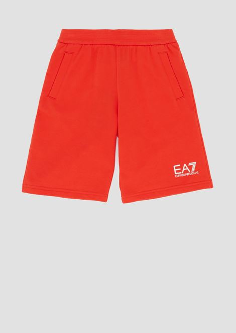 Boys' cotton fleece shorts