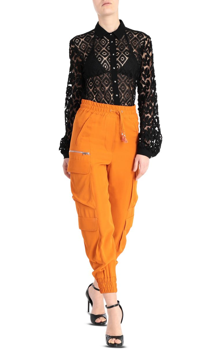 JUST CAVALLI Track trousers with big pockets Casual pants Woman d