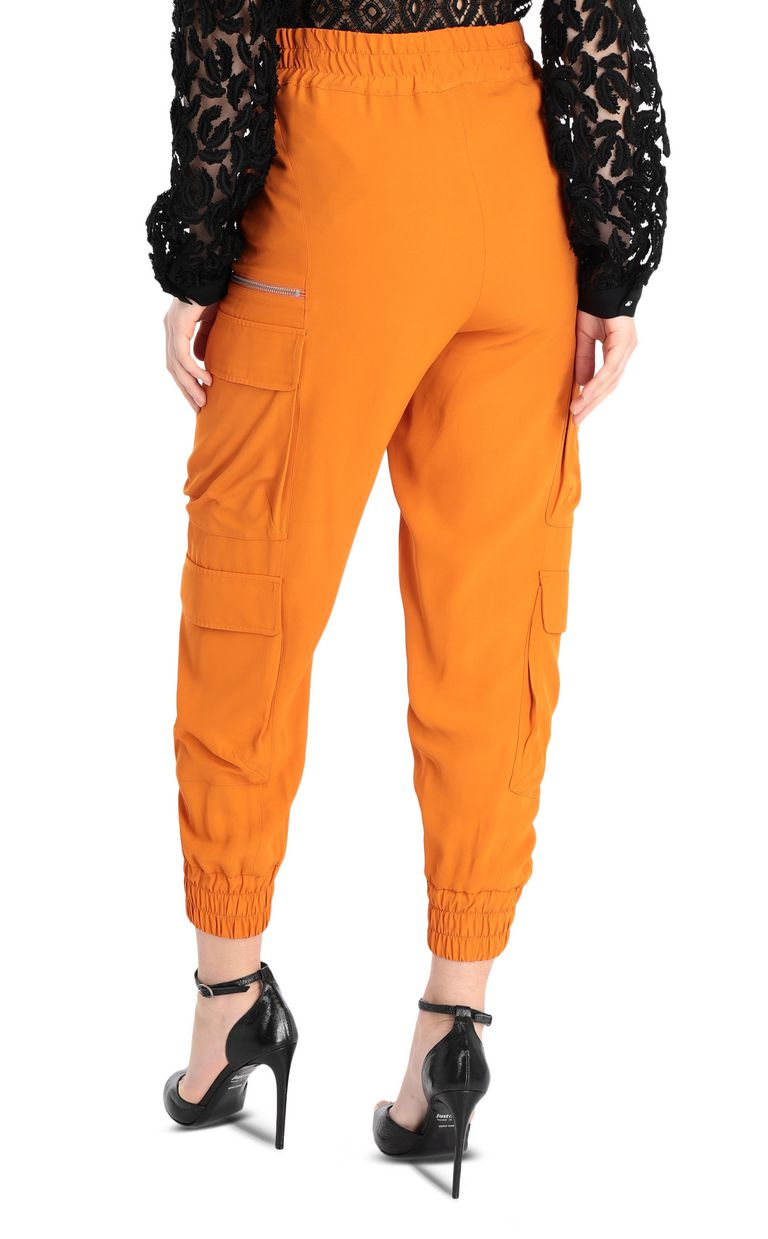 JUST CAVALLI Track trousers with big pockets Casual pants Woman r
