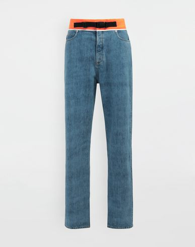 MAISON MARGIELA Spliced denim pants Jeans [*** pickupInStoreShippingNotGuaranteed_info ***] f