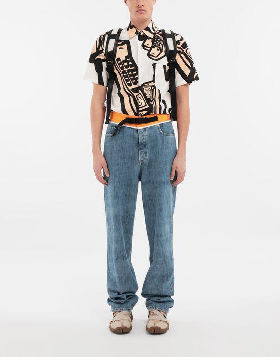MAISON MARGIELA Spliced denim pants Jeans [*** pickupInStoreShippingNotGuaranteed_info ***] d
