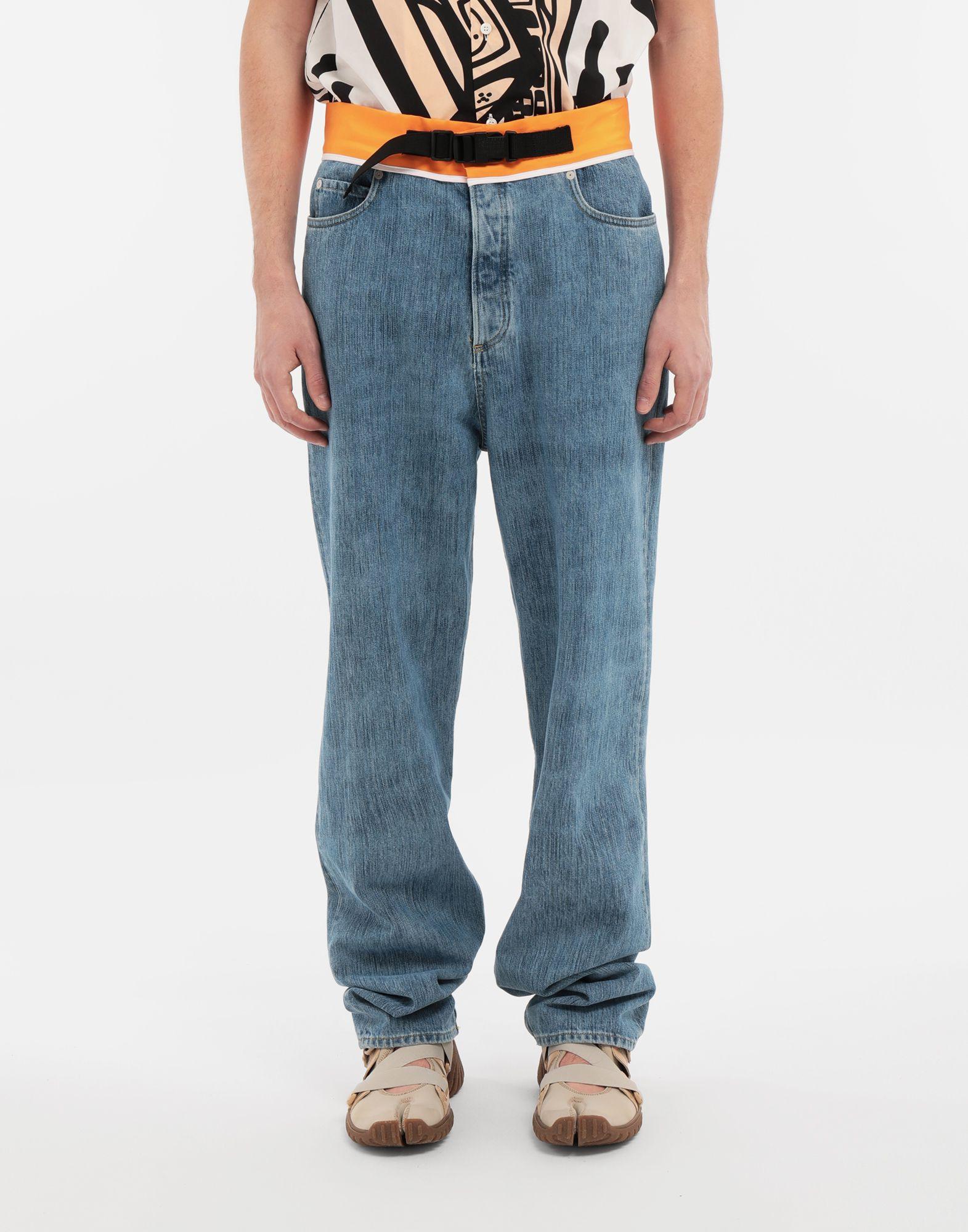 MAISON MARGIELA Spliced denim pants Jeans Man r
