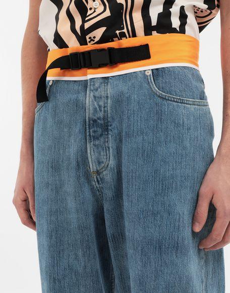 MAISON MARGIELA Spliced denim pants Jeans Man a