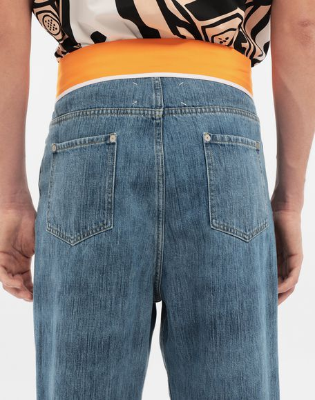 MAISON MARGIELA Spliced denim pants Jeans Man b