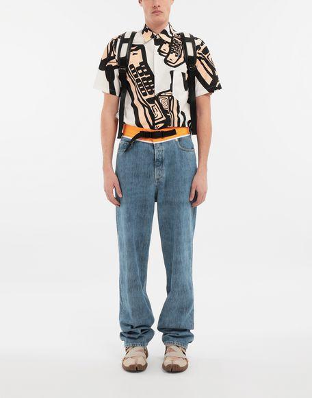 MAISON MARGIELA Spliced denim pants Jeans Man d