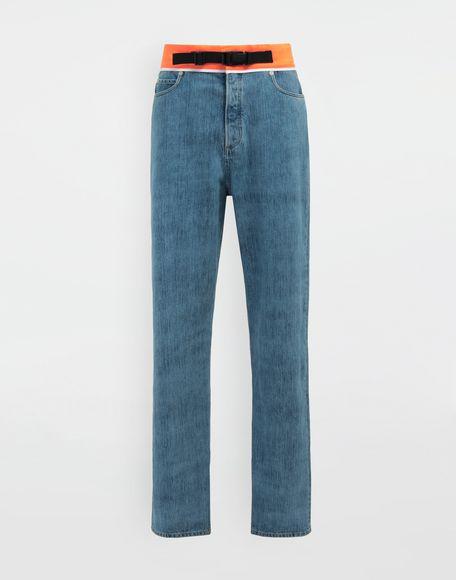 MAISON MARGIELA Spliced denim pants Jeans Man f