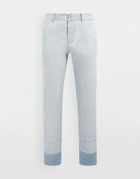 MAISON MARGIELA Bleached indigo denim pants Casual pants [*** pickupInStoreShippingNotGuaranteed_info ***] f