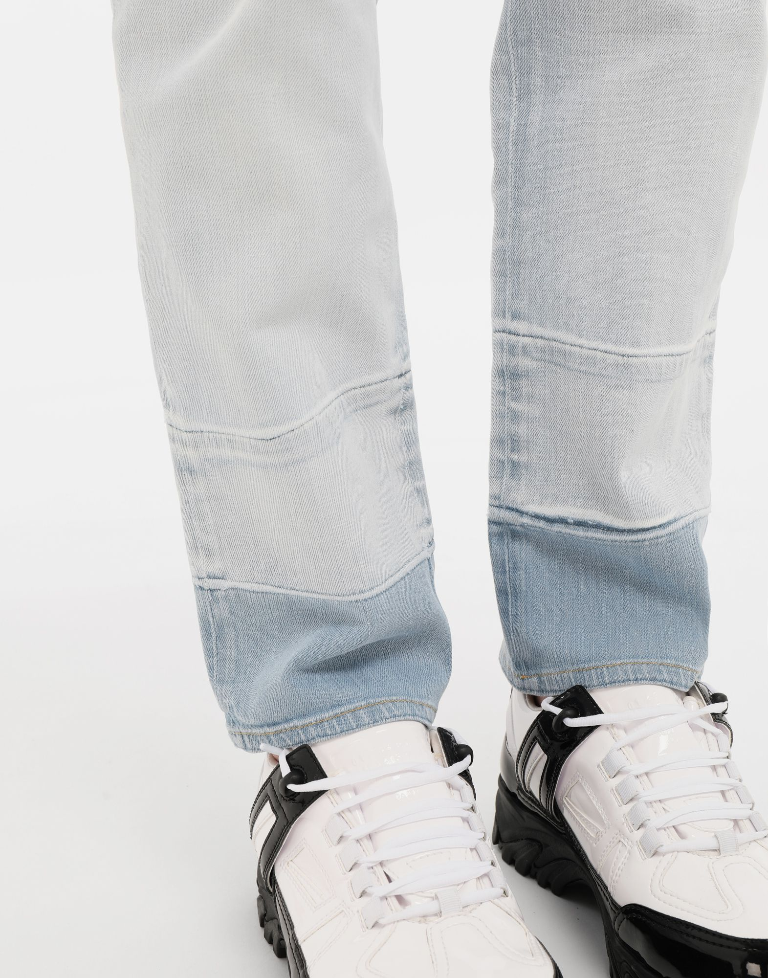 MAISON MARGIELA Bleached indigo denim pants Casual pants Man a