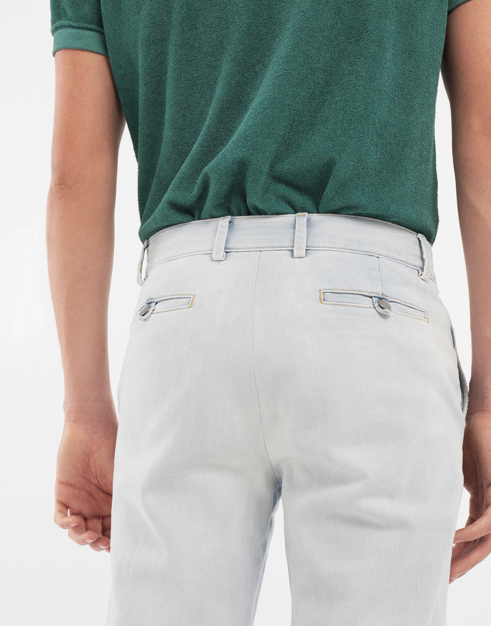MAISON MARGIELA Bleached indigo denim pants Casual pants Man b