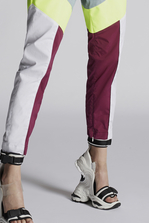 DSQUARED2 Cotton Track Pants Trousers Woman