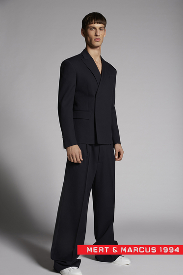 DSQUARED2 Mert & Marcus 1994 x Dsquared2 Two Pleats Slouch Pants Pantalón Hombre