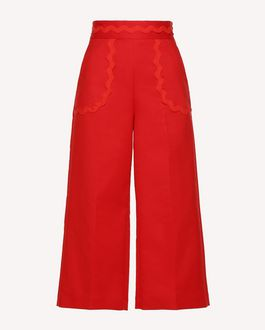 REDValentino Trousers Woman RR0RBB003M7 MM0 a