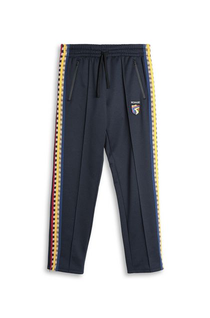 MISSONI Trouser Dark blue Man - Back
