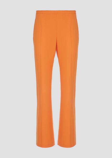 Pantalones de crepé de cady técnico