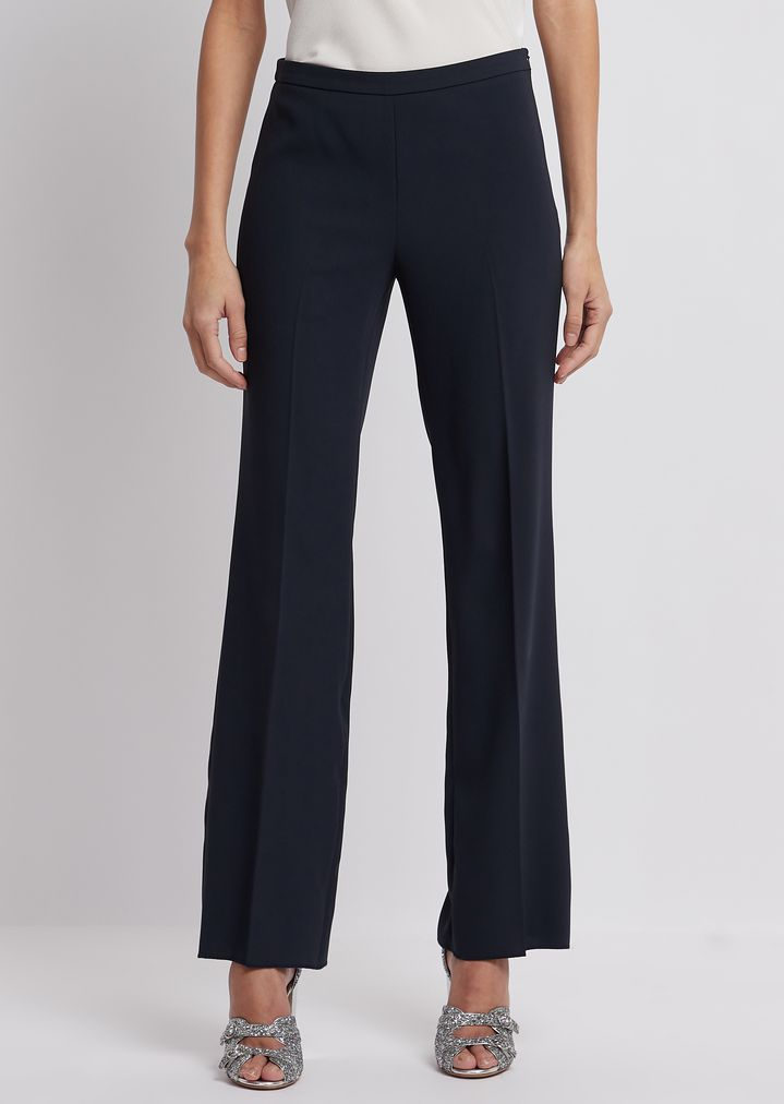 aa2d3f6e78 Trousers in tech crepe cady