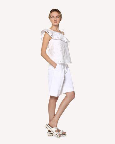 REDValentino RR0RDA050F5 001 Bermuda shorts Woman d