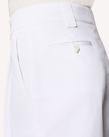 REDValentino RR0RDA050F5 001 Bermuda shorts Woman e