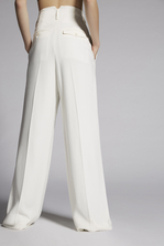 DSQUARED2 Mert & Marcus 1994 x Dsquared2 Two Pleats Slouch Pants Trousers Woman
