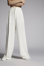 DSQUARED2 Mert & Marcus 1994 x Dsquared2 Two Pleats Slouch Pants Pantalon Femme