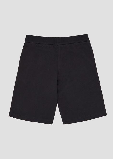 Boys' cotton fleece shorts