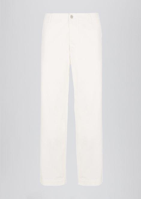 Oversized cotton bull pants