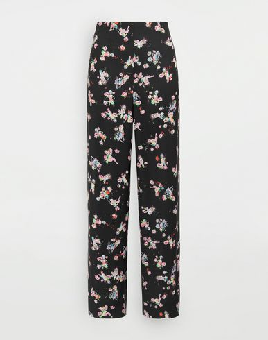 MAISON MARGIELA Kawaii-print pants Casual pants Woman f