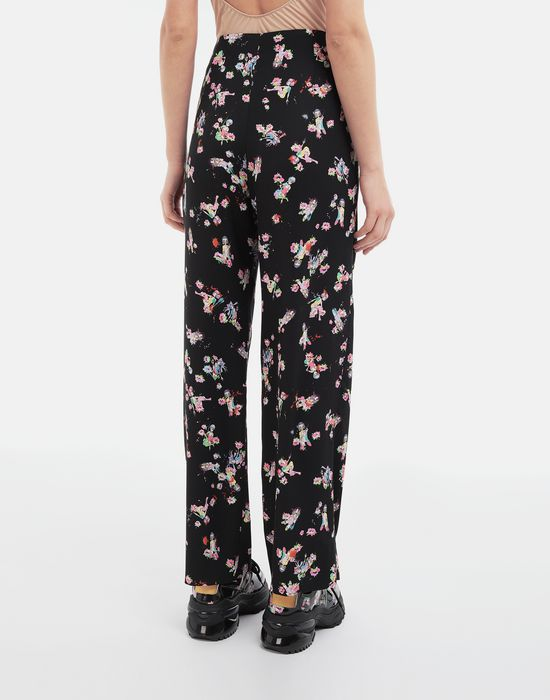 MAISON MARGIELA Kawaii-print pants Trousers [*** pickupInStoreShipping_info ***] e