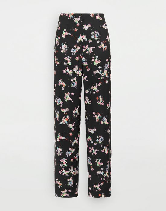 MAISON MARGIELA Kawaii-print pants Trousers [*** pickupInStoreShipping_info ***] f