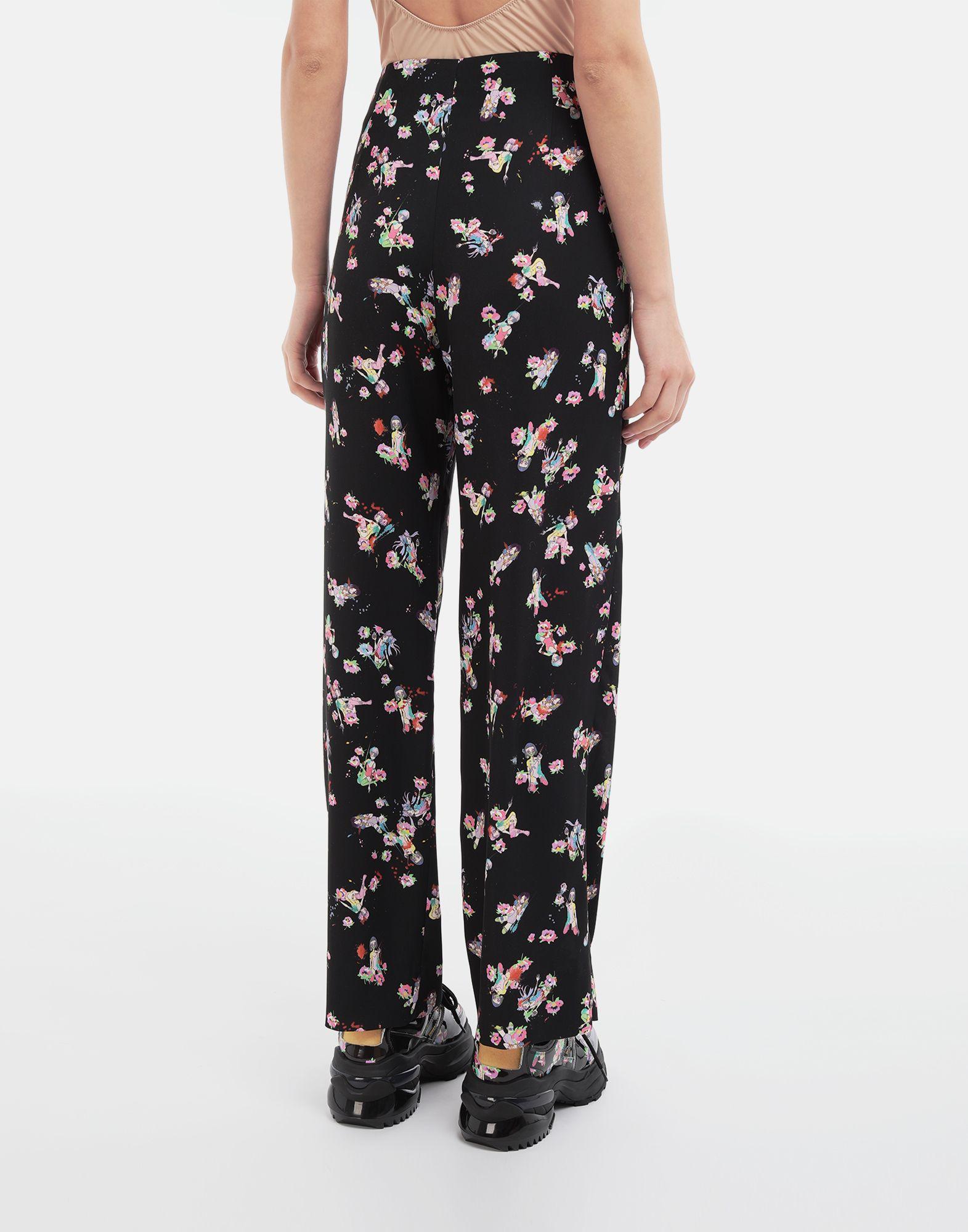 MAISON MARGIELA Kawaii-print pants Trousers Woman e